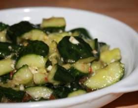 Закуска з огірків на зиму фото