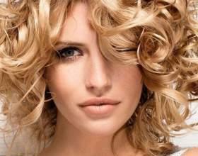 Завивка волосся на тривалий час: карвінг, хімічна і біозавивка на середні і великі локони фото