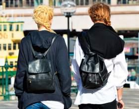 Жіноча сумка рюкзак фото
